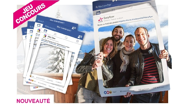Photobooth Selfie Facebook personnalisable