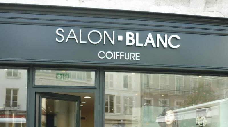 Panneau enseigne salon de coiffure