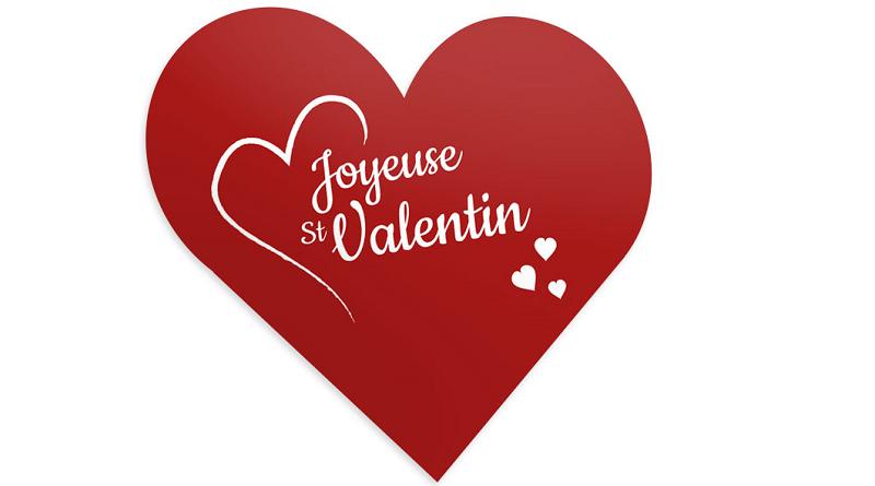 PLV de magasin - St Valentin
