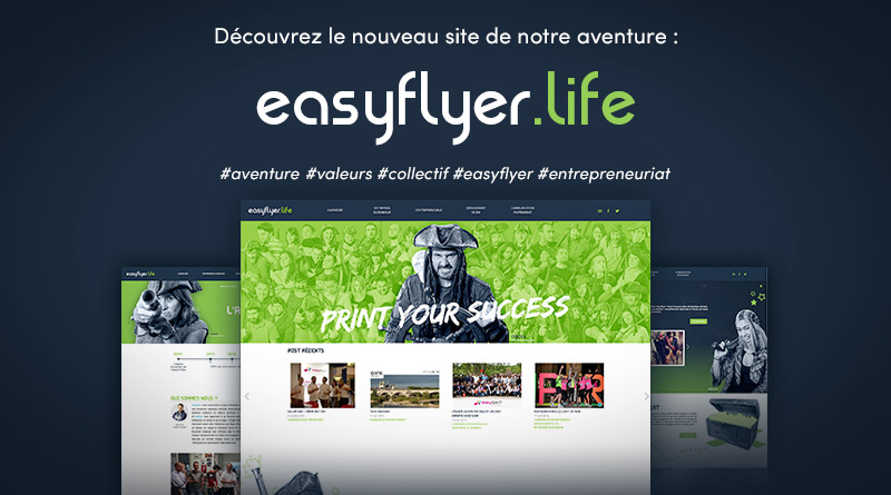 Lancement site Easyflyer Life