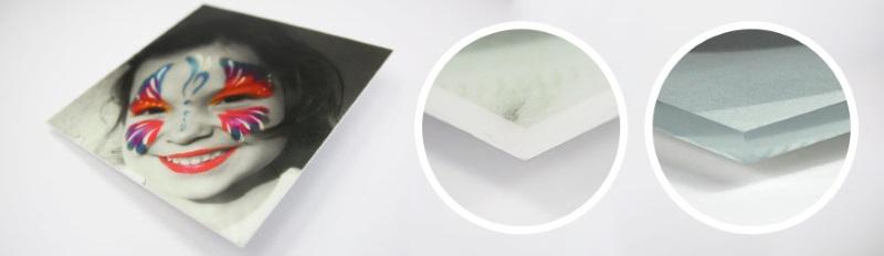 Plexiglass sur mesure transparent blanc
