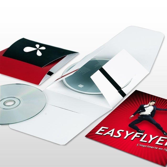 Pochette cd dvd personnalisée