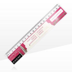 Règle flexible transparente personnalisée 20cm