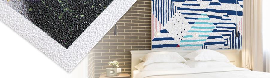 personnalisez votre papier peint adh sif rendu et texture pour cr er votre style blog. Black Bedroom Furniture Sets. Home Design Ideas