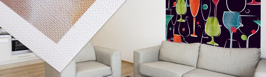 impression papier vinyle adhésif personnalisable décoration rendu toile canvas