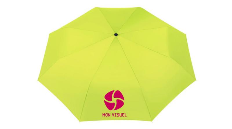 Parapluie objet publicitaire vert pomme