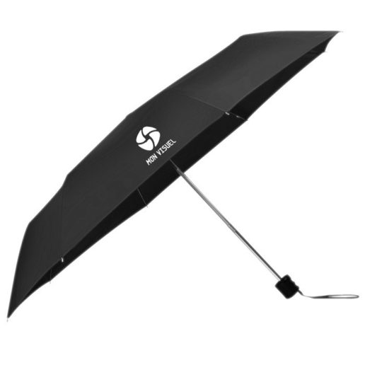 Parapluie personnalisable noir tissu polyester