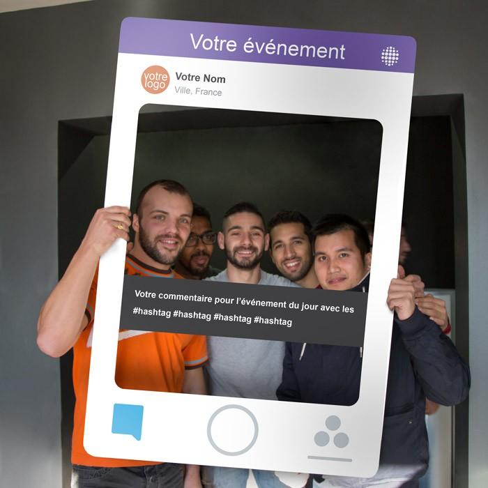 Photo Booth Snapchat : idéal pour de l'événementiel