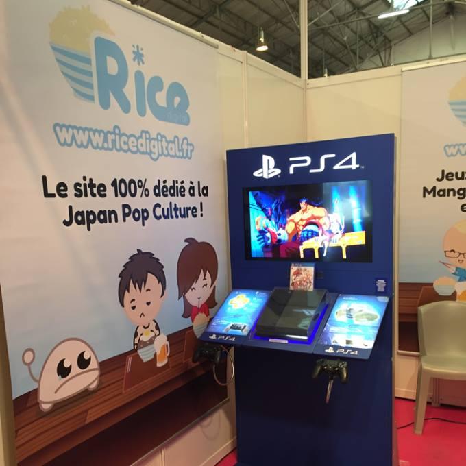 PLV : Kakémono suspendu pour habiller un stand au salon japan expo