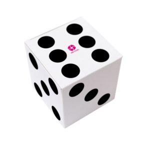 Cube promotionnel carton dés