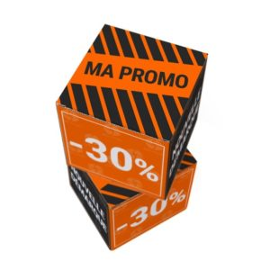 Cubes personnalisables carton promo