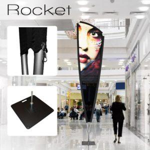 Drapeau géant unik xxl rocket