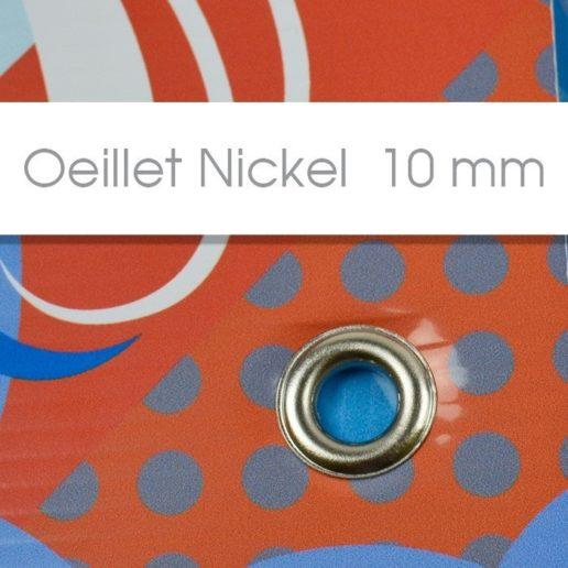 Oeillet nickel 10 mm akilux 3.5 mm