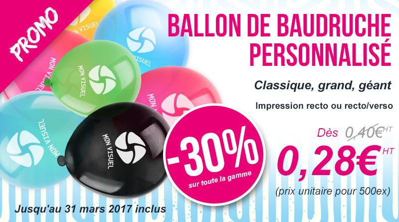 ballons baudruche personnalisés promotion communication événement