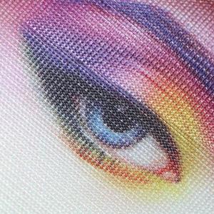 bannière imprimée sublimation textile maille 110g résistance abrasions