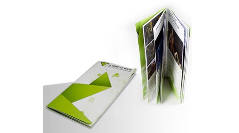 brochure b6 présentation book plaquette information
