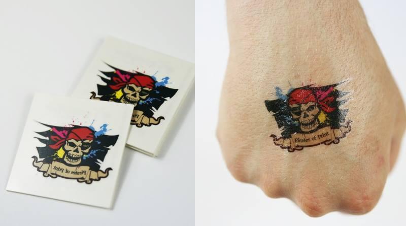 Impression tatouage personnalisé événementiel