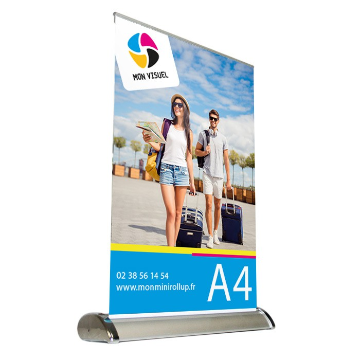 Mini Roll Up Format A4 personnalisable