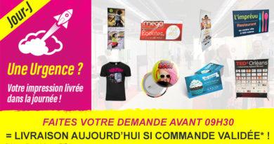 Nouveau : La Livraison Express Jour-J !!!!