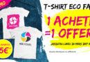 T-shirt personnalisé Eco Face pour un maximum de visibilité