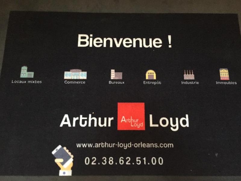 tapis de sol personnalisé Arthur Loyd