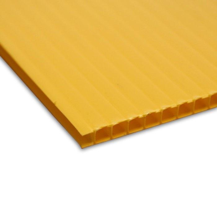 Akilux couleur jaune alvéolé
