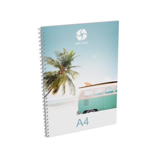 Brochure spirale A4