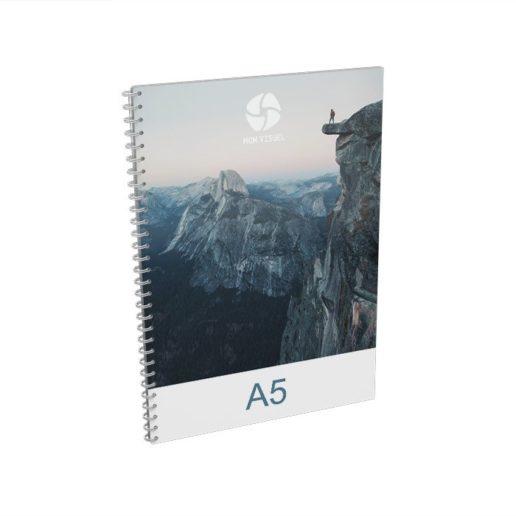 Brochure spirale A5