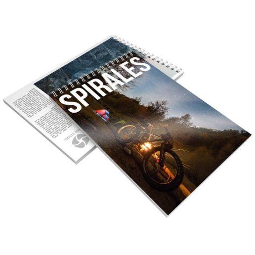 Brochure spirale italienne recto verso