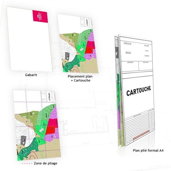 Impression plan architecte personnalisé