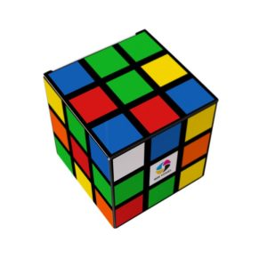 cubes PLV carton personnalisation