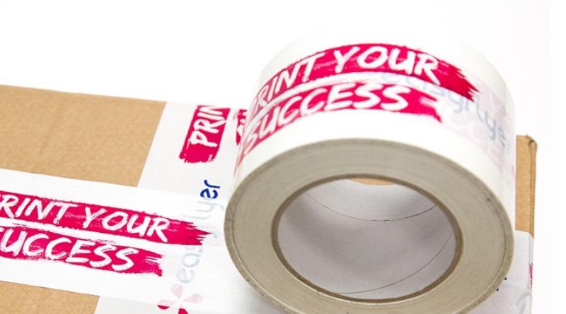 personnalisez ruban adhésif sécuriser colis publicitaire
