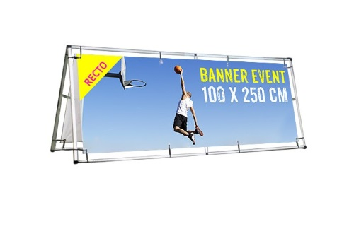 Banner event grand format