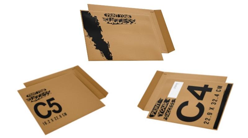 Enveloppes Kraft personnalisées