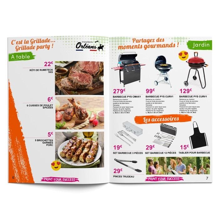 Prospectus publicitaire prix discount