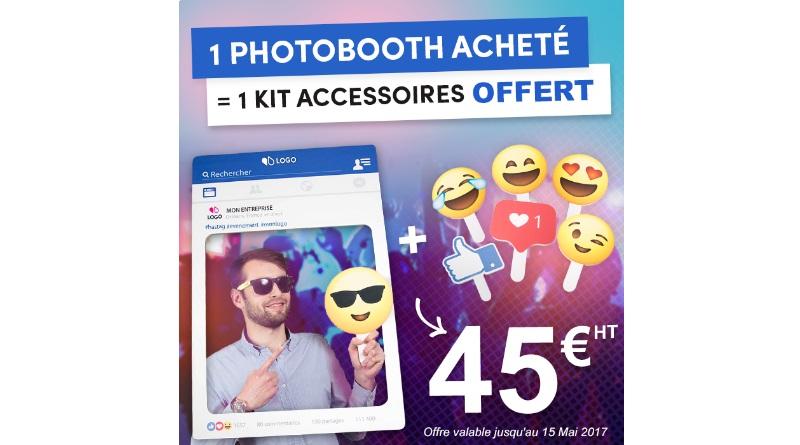 cadre a selfie photobooth kit accessoires événements entreprise