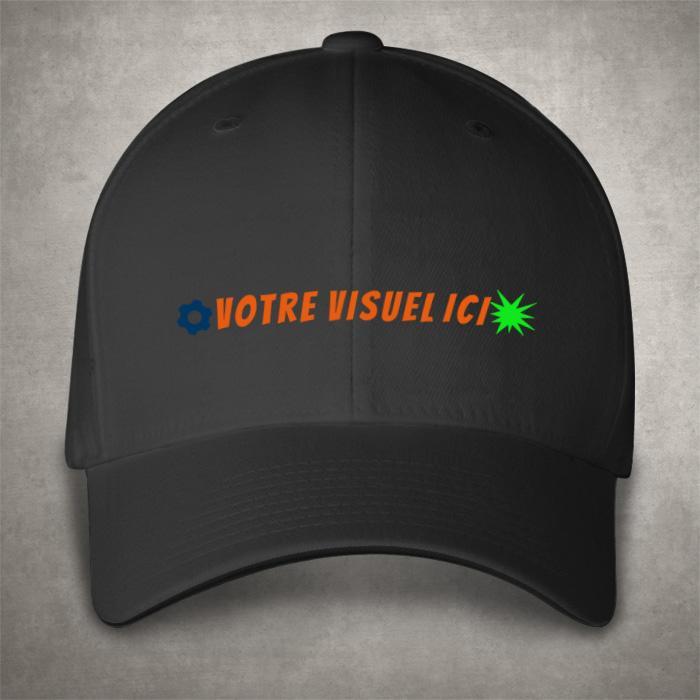 Impression casquette publicitaire personnalisable