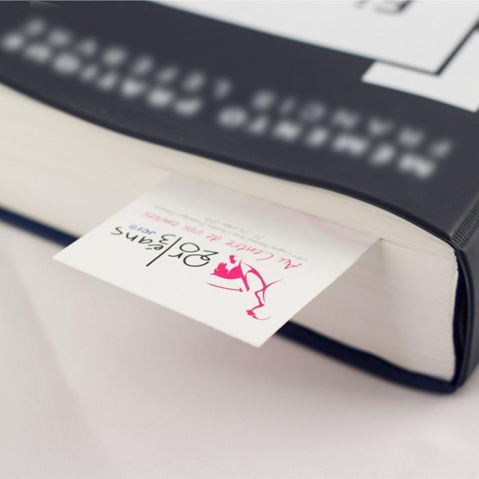 Impression marque page personnalisé idéale pour métiers de l'édition et du livre