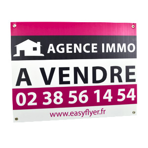 Panneau immobilier simple akilux