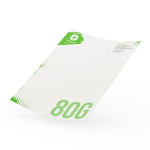 Papier entête papier recyclé 80g