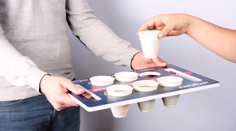 plateau porte café service impression personnalisation