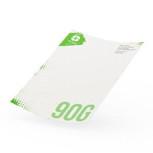 Tête de lettre papier recyclé 90g