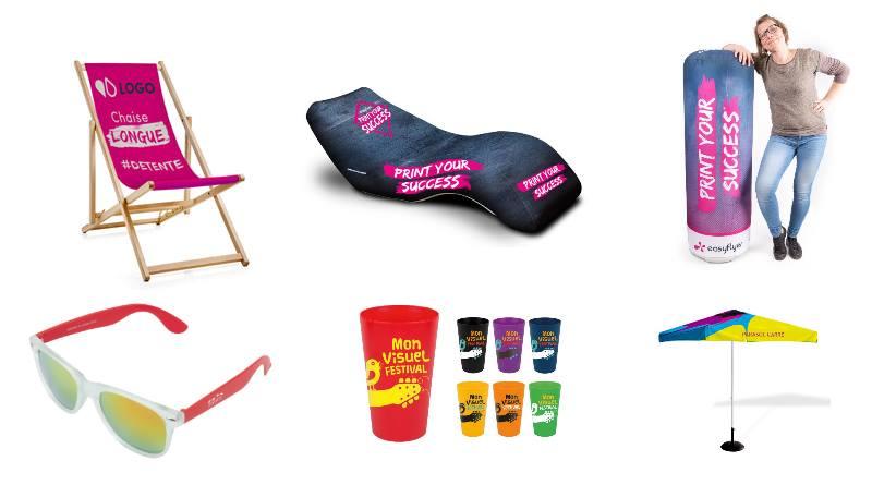 Communication estivale : PLV et objets publicitaires pour l'été