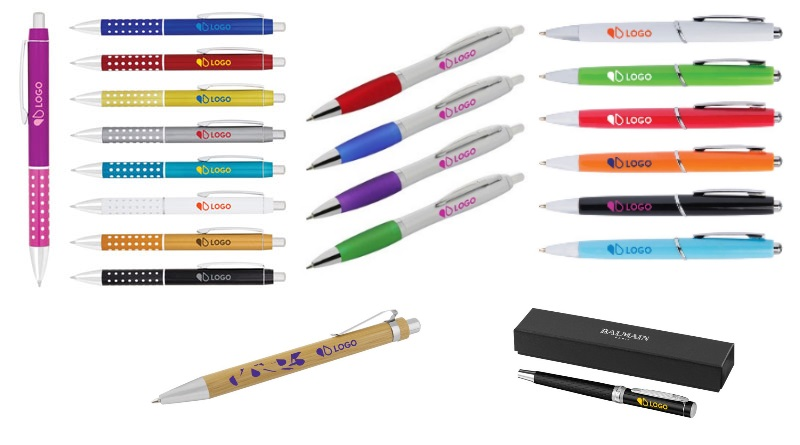stylos publicitaires impression monochrome