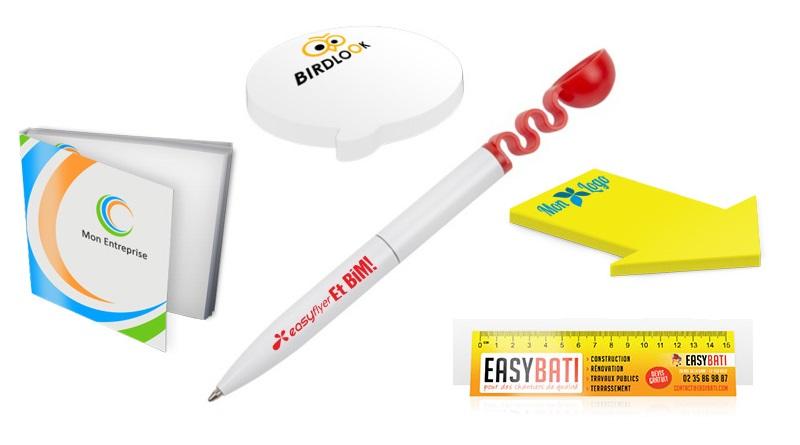 accessoires bureau imprimes pense bête règle stylo catapulte