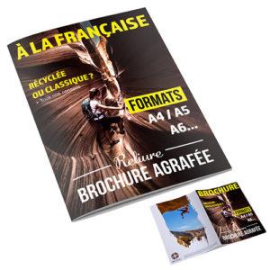 brochure sens de lecture à la française