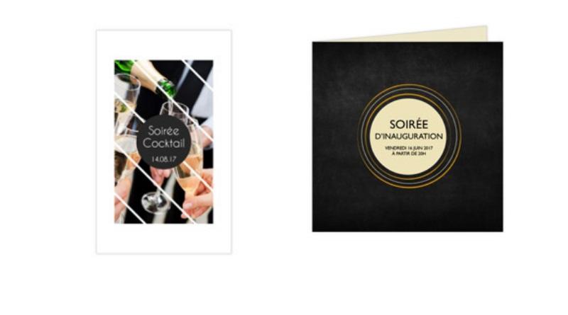 cartons invitation faire part personnalisé impression