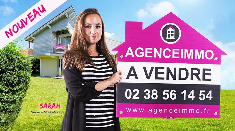 akilux support rigide panneau à vendre immobilier forme maison