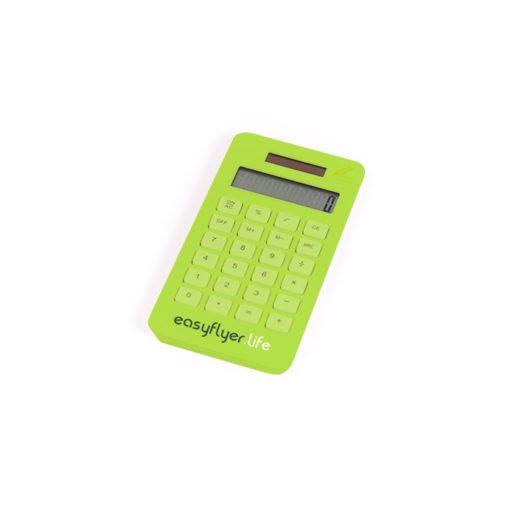 calculette écologique personnalisée verte