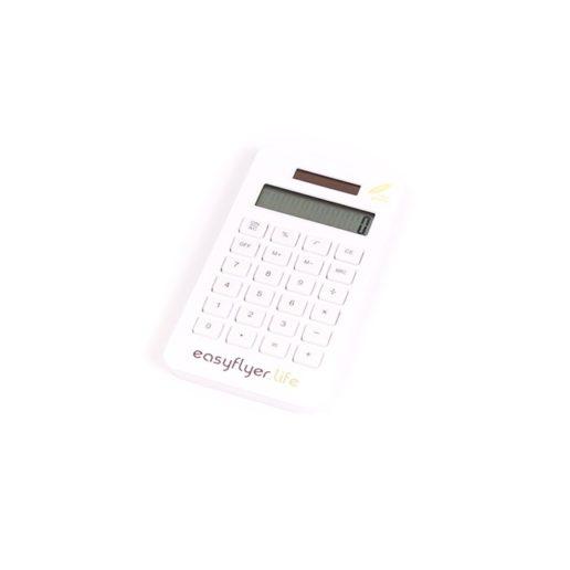 calculatrice écologique publicitaire blanche - goodies
